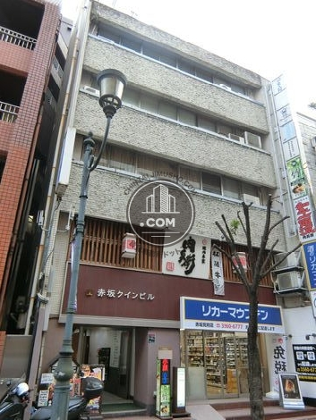 赤坂クインビル/オフィスコオフィス赤坂 外観写真