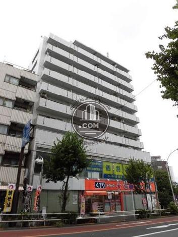ライオンズマンション北新宿 外観写真