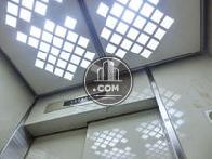 特徴的な模様の天井照明