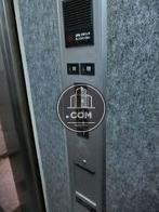エレベーター操作パネルです