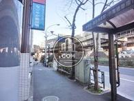 バスで高田馬場方面へアクセス可能です
