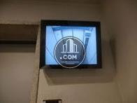 エレベーター内の監視カメラ