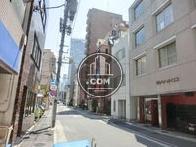 前面道路歌舞伎座方面