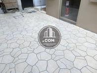 石畳タイプの床面です