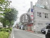 鶴川街道へ向かう通りです