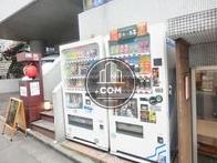 敷地内には複数の自動販売機があります