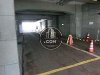 駐車場出口です