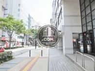 アリーナ通り(新横浜駅方面)