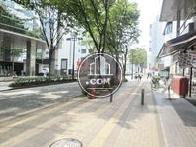 綺麗に整備された街並み(新横浜1丁目方面)