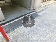 スロープの固定された床面
