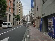 浜松町駅方面の風景です。