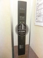 エレベーター内の操作面