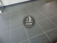 綺麗なタイル張りの床