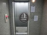 エレベーターの籠内です