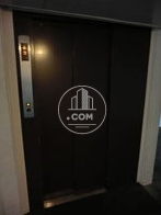 C棟側のエレベーターです