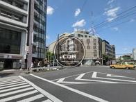 渋谷2丁目交差点から撮影