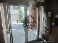 手動式のガラス扉