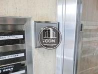 共有空間内に設けられたオートロックシステム