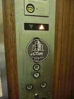 5階まで続くエレベーターです