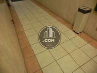 タイル張りの床です
