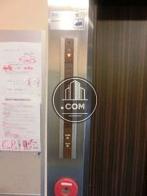 エレベーター押しボタンです