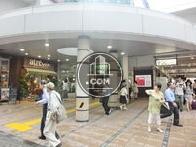 五反田駅西口の様子