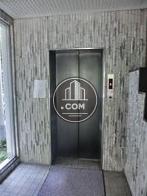 シックなエレベーターです