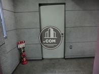エレベーター内からの風景