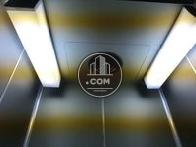 エレベーター内の天井です