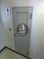 男子トイレです