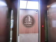 エレベーター内部の様子