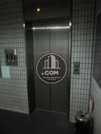 スタイリッシュなエレベーターです