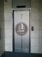 シンプルなタイプのエレベーターです