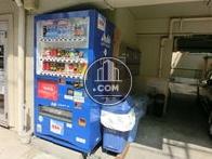 物件備え付けの自動販売機です。
