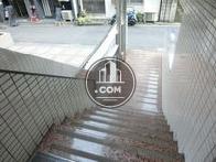 緩やかな階段です