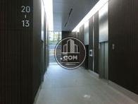 高層階用のエレベーターホールです