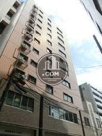 麻布霞町マンションビルの外観写真