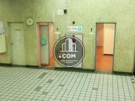 トイレ前のスペース