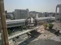 桜木町駅方面の眺望