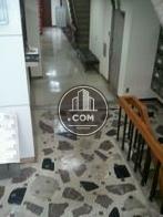 印象的な床のデザインです