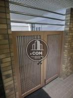通用口の鉄扉